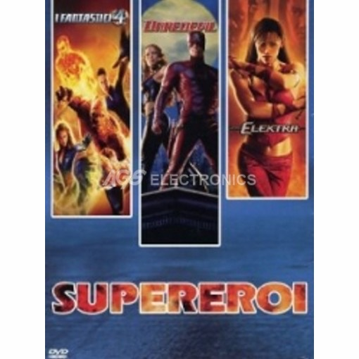 Supereroi Vol 1 - Daredevil + Elektra + Fantastic 4 (3 dvd)