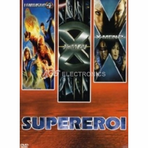 Supereroi Vol 2 - X-Men + X-Men 2 + Fantastici 4 (3 dvd)