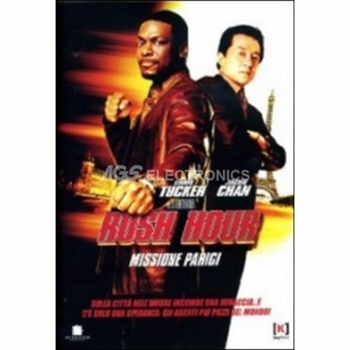 Rush hour - missione parigi - DVD NUOVO SIGILLATO - MVDVD-AZ693 - MVDVDAZ693