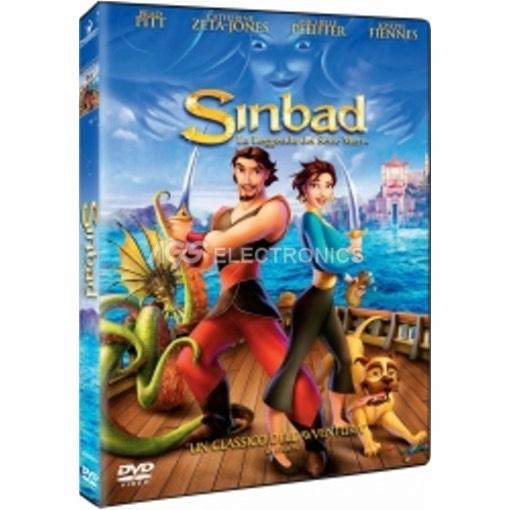 Sinbad - la leggenda dei sette mari - DVD NUOVO SIGILLATO - MVDVD-CA019 - MVDVDCA019