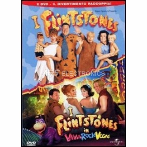 Flintstones + Flintstones in viva Rock Vegas (2 dvd)
