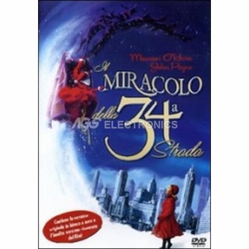 Miracolo nella 34° strada (1947) - DVD NUOVO SIGILLATO - MVDVD-CO1612 - MVDVDCO1612