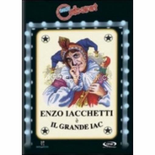 Enzo Iacchetti - il grande Iac - DVD NUOVO SIGILLATO - MVDVD-CO2225 - MVDVDCO2225
