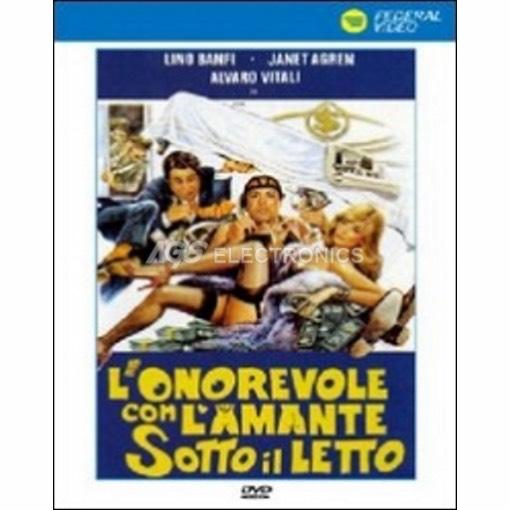 Onorevole con l'amante sotto il letto (l') - DVD NUOVO SIGILLATO - MVDVD-CO591 - MVDVDCO591