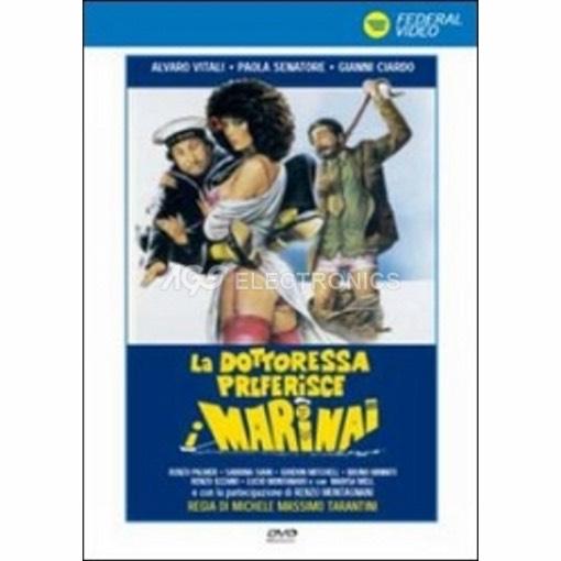 Dottoressa preferisce i marinai (la) - DVD NUOVO SIGILLATO - MVDVD-CO595 - MVDVDCO595