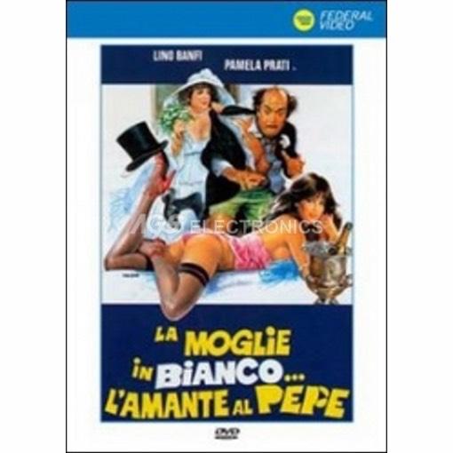 Moglie in bianco... l'amante al pepe (la) - DVD NUOVO SIGILLATO - MVDVD-CO598 - MVDVDCO598