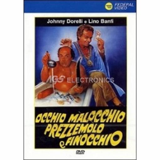 Occhio malocchio prezzemolo e finocchio - DVD NUOVO SIGILLATO - MVDVD-CO607 - MVDVDCO607