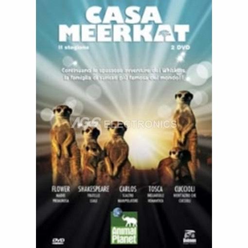Casa Meerkat - stagione 2 box set (2 dvd) - DVD NUOVO SIGILLATO - MVDVD-DO370 - MVDVDDO370
