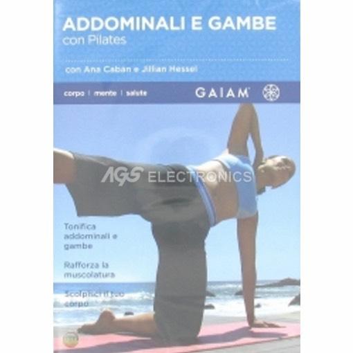 Addominali e gambe con pilates (GAIAM) - DVD NUOVO SIGILLATO - MVDVD-DO403 - MVDVDDO403