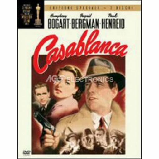 Casablanca (special edition) (2 dvd) - DVD NUOVO SIGILLATO - MVDVD-DR105 - MVDVDDR105
