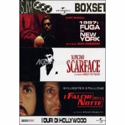 Duri di Hollywood box set (3 dvd)