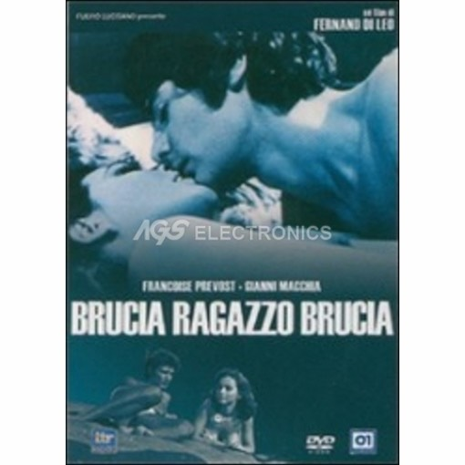 Brucia ragazzo brucia - DVD NUOVO SIGILLATO - MVDVD-DR1569 - MVDVDDR1569