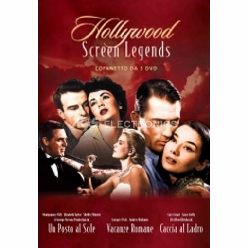 Hollywood screen legends cofanetto - box set  (3 dvd) - DVD NUOVO SIGILLATO - MVDVD-DR1781 - MVDVDDR1781