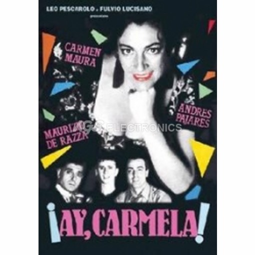 Ay, Carmela - DVD NUOVO SIGILLATO - MVDVD-DR988 - MVDVDDR988