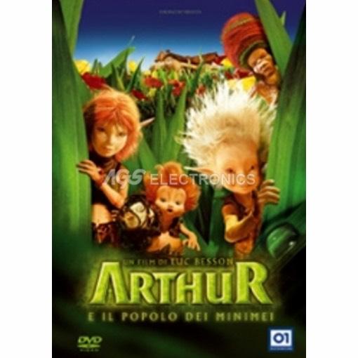 Arthur e il popolo dei minimei - DVD NUOVO SIGILLATO - MVDVD-FA077 - MVDVDFA077