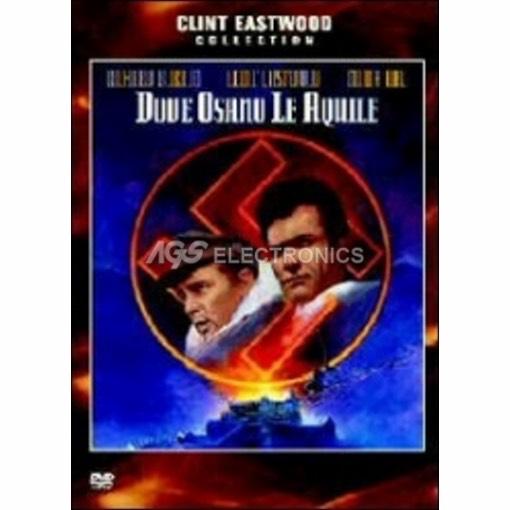 Dove osano le Aquile - DVD NUOVO SIGILLATO - MVDVD-GU025 - MVDVDGU025
