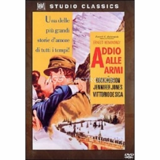 Addio alle armi - DVD NUOVO SIGILLATO - MVDVD-GU064 - MVDVDGU064