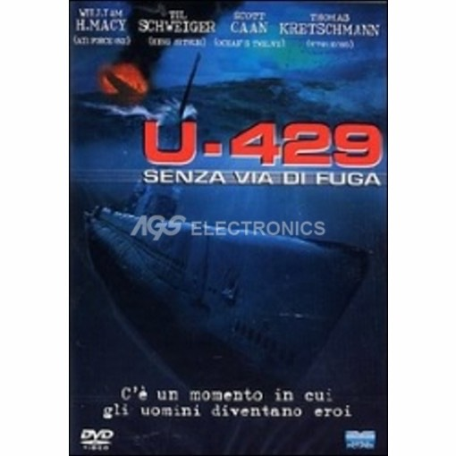 U-429 Senza via di fuga - DVD NUOVO SIGILLATO - MVDVD-GU111 - MVDVDGU111