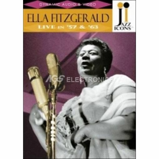Ella Fitzgerald - live in '57 & '63 - DVD NUOVO SIGILLATO - MVDVD-MU114 - MVDVDMU114