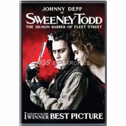 Sweeney Todd - il diabolico barbiere di Fleet Street - DVD NUOVO SIGILLATO - MVDVD-MU141 - MVDVDMU141