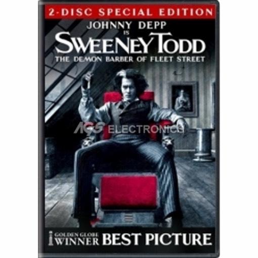 Sweeney Todd - il diabolico barbiere di Fleet Street - edizione speciale (2 dvd) - DVD NUOVO SIGILLATO - MVDVD-MU142 - MVDVDMU14