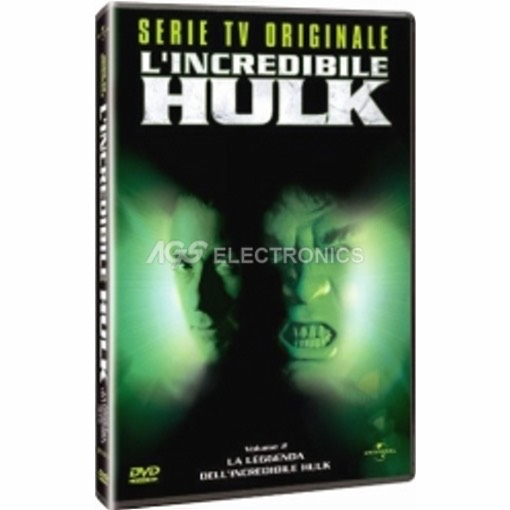 Incredibile Hulk (l') - serie tv vol 2 - DVD NUOVO SIGILLATO - MVDVD-TV205 - MVDVDTV205