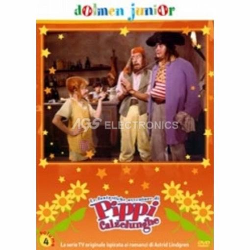Pippi Calzelunghe Vol. 4 - DVD NUOVO SIGILLATO - MVDVD-TV255 - MVDVDTV255
