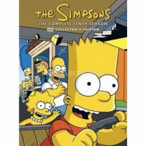 Simpson (i) - stagione 10 box set (4 dvd) - DVD NUOVO SIGILLATO - MVDVD-TV339 - MVDVDTV339