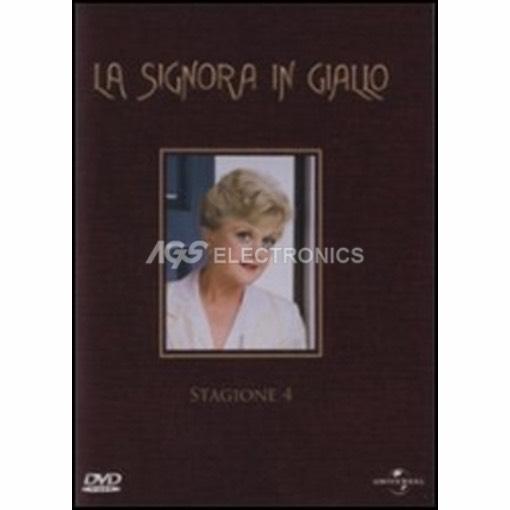 Signora in giallo (la) - stagione 4 box set (6 dvd) - DVD NUOVO SIGILLATO - MVDVD-TV359 - MVDVDTV359