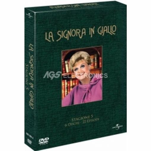Signora in giallo (la) - stagione 5 box set (6 dvd) - DVD NUOVO SIGILLATO - MVDVD-TV370 - MVDVDTV370