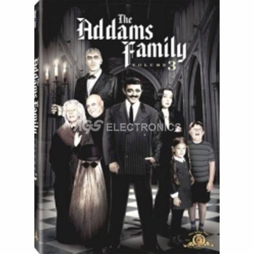 Famiglia Addams (la) - stagione 3 box set (3 dvd) - DVD NUOVO SIGILLATO - MVDVD-TV390 - MVDVDTV390
