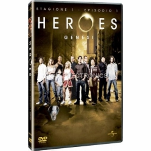 Heroes - genesi (episodio 1) - DVD NUOVO SIGILLATO - MVDVD-TV398 - MVDVDTV398