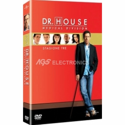 Dr. House - stagione 3 box set (6 dvd) - DVD NUOVO SIGILLATO - MVDVD-TV408 - MVDVDTV408
