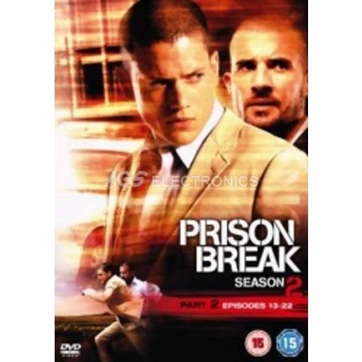 Prison break - stagione 2 vol 2 box set (3 dvd) - DVD NUOVO SIGILLATO - MVDVD-TV421 - MVDVDTV421