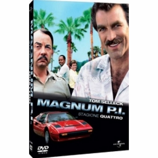Magnum P.I. - stagione 4 box set (6 dvd)