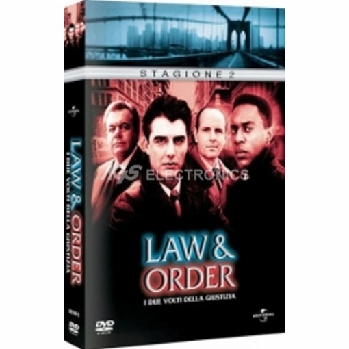 Law & Order - stagione 2 box set (6 dvd) - DVD NUOVO SIGILLATO - MVDVD-TV450 - MVDVDTV450