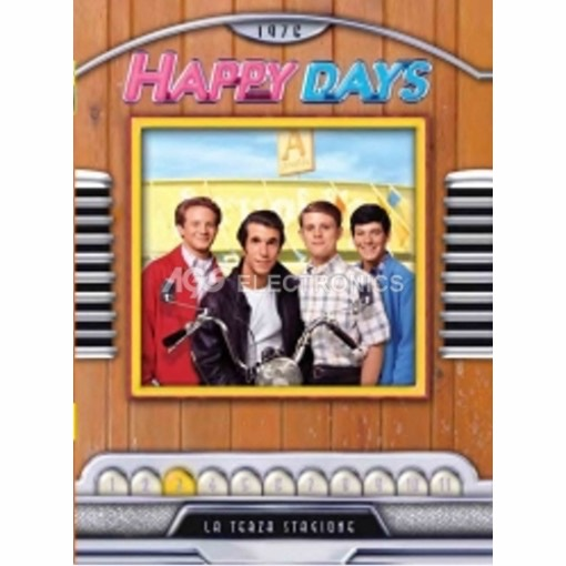 Happy days - stagione 3 box set (4 dvd) - DVD NUOVO SIGILLATO - MVDVD-TV455 - MVDVDTV455