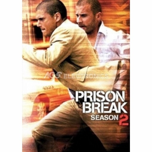 Prison break - stagione 2 completa box set (6 dvd) - DVD NUOVO SIGILLATO - MVDVD-TV457 - MVDVDTV457