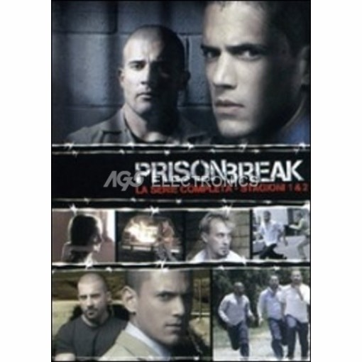 Prison break - stagioni 1 + 2 complete box set (12 dvd) - DVD NUOVO SIGILLATO - MVDVD-TV458 - MVDVDTV458
