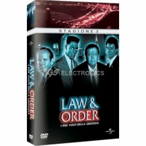 Law & Order - stagione 3 box set (5 dvd) - DVD NUOVO SIGILLATO - MVDVD-TV473 - MVDVDTV473