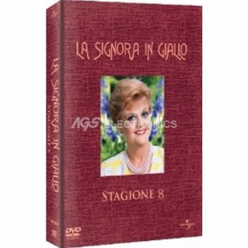 Signora in giallo (la) - stagione 8 box set (6 dvd) - DVD NUOVO SIGILLATO - MVDVD-TV474 - MVDVDTV474