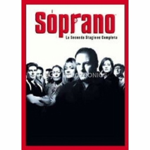 Soprano (i) - stagione 2 box set (4 dvd) - DVD NUOVO SIGILLATO - MVDVD-TV482 - MVDVDTV482