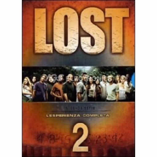 Lost - stagione 2 box set (8 dvd) - DVD NUOVO SIGILLATO - MVDVD-TV485 - MVDVDTV485