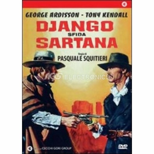 Django sfida sartana - DVD NUOVO SIGILLATO - MVDVD-WE039 - MVDVDWE039