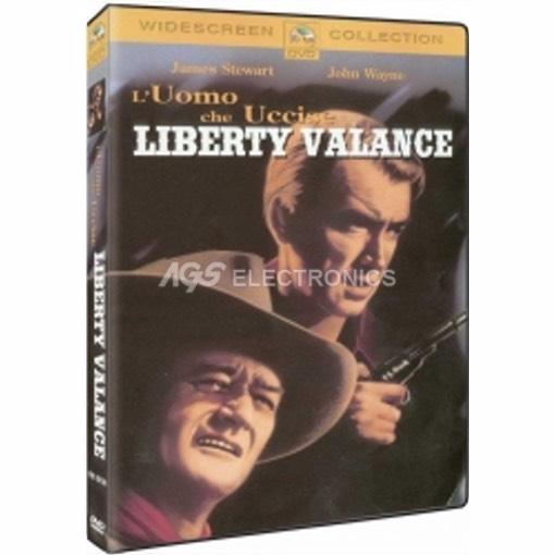 Uomo che uccise Liberty Valance (l') - DVD NUOVO SIGILLATO - MVDVD-WE063 - MVDVDWE063