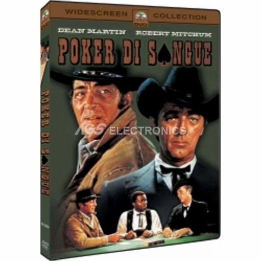 Poker di sangue - DVD NUOVO SIGILLATO - MVDVD-WE069 - MVDVDWE069