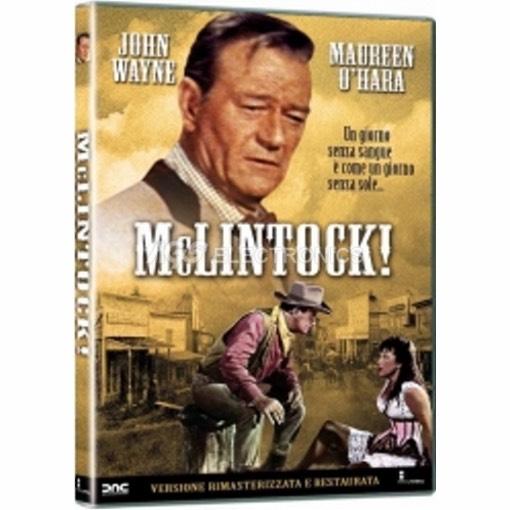Mclintock - DVD NUOVO SIGILLATO - MVDVD-WE140 - MVDVDWE140