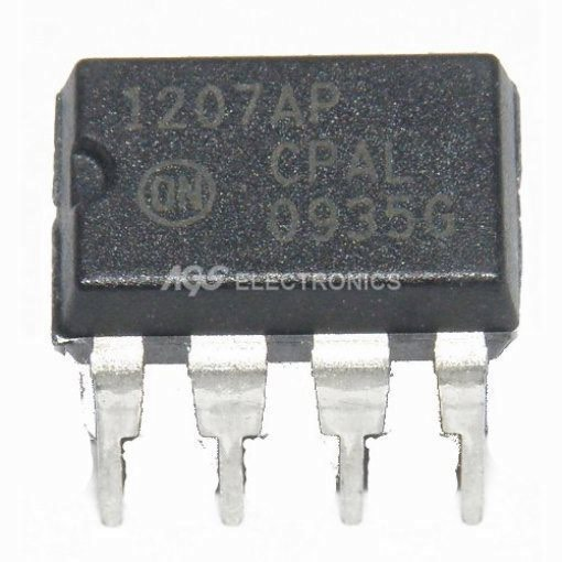 NCP1207AP - NCP 1207A INTEGRATO PWM CONTROLLER 500MA 8PIN