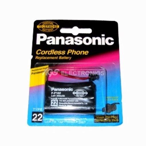 BATTERIA CORDLESS PANASONIC 3,6V 300mAh