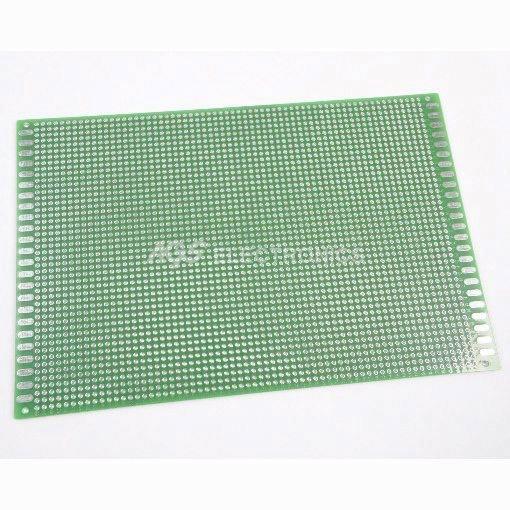 Basetta Vetronite 1.6mm doppia faccia 12 x 18cm 3240 fori passo 2.54mm